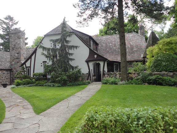 This home originally came to be in 1934. The house has expanded twice since that time, latest in 1978.