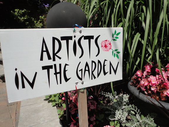 15th Annual Artists In The Garden – garden Tour June 21