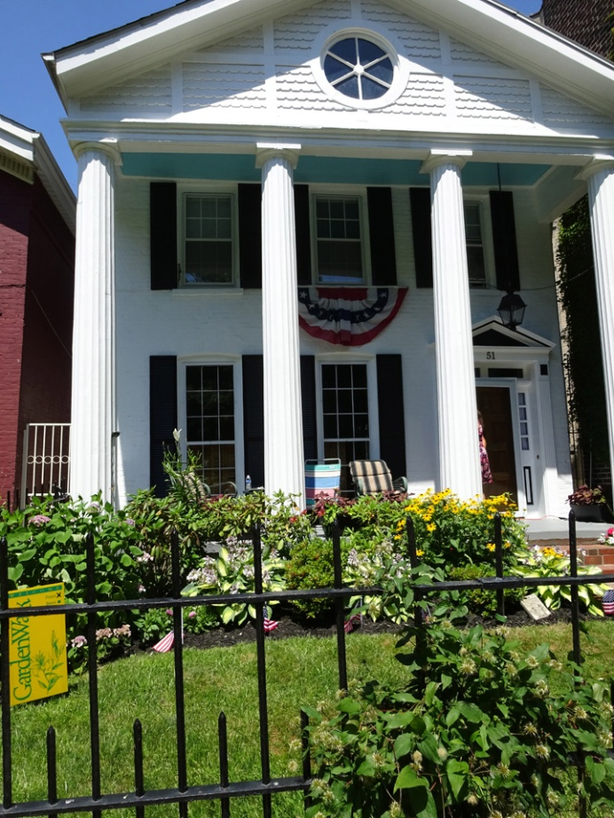 President Grover Cleveland's former home 51 Johnson Park built 1845 Classic Greek Revival 5 beds