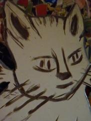 White Cat face