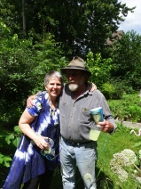 in the Community Garden with Gail 2017