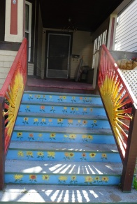 Painted Stairs Buffalo