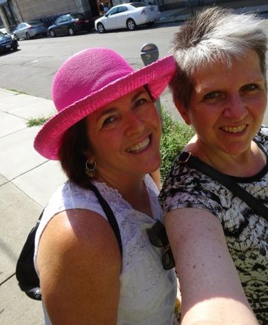 Viv and Sheila Buffalo July 2017